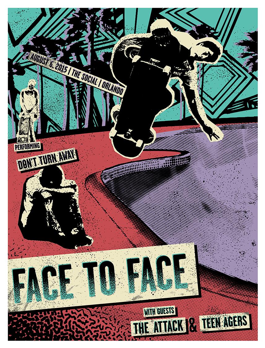FACE-TO-FACE_Orlando_8-6-2015_poster