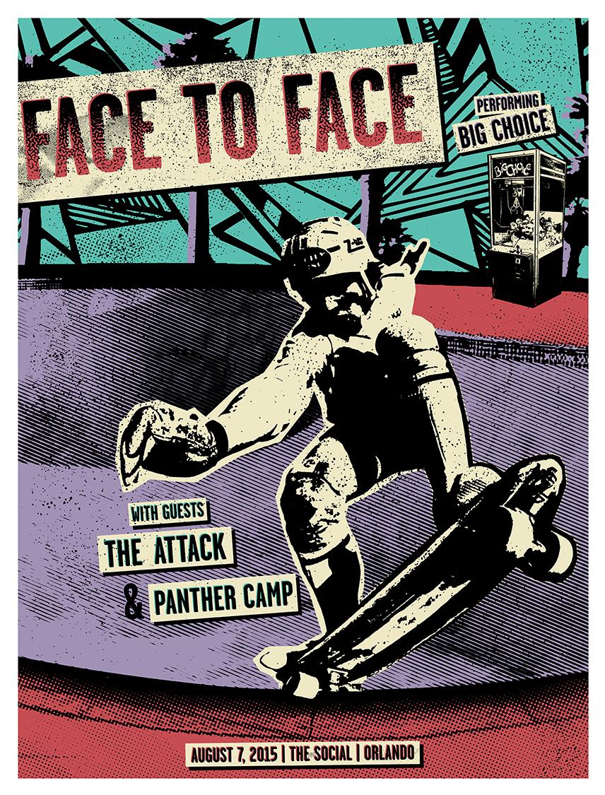 FACE-TO-FACE_Orlando_8-7-2015_poster