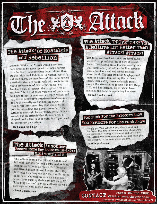The Attack One Sheet Page 2